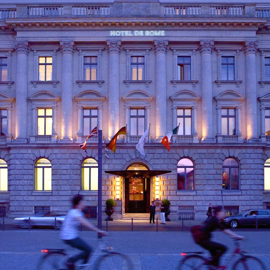 Hotel De Rome Berlin Preise