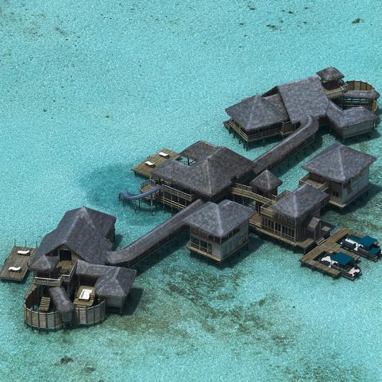 马尔代夫吉利兰堪富士岛度假村(Gili Lankanfushi, Maldives)