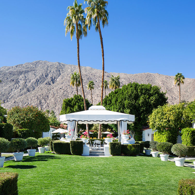 Palm Springs Hotels >> Avalon Hotel And Bungalows Palm Springs Palm Springs California