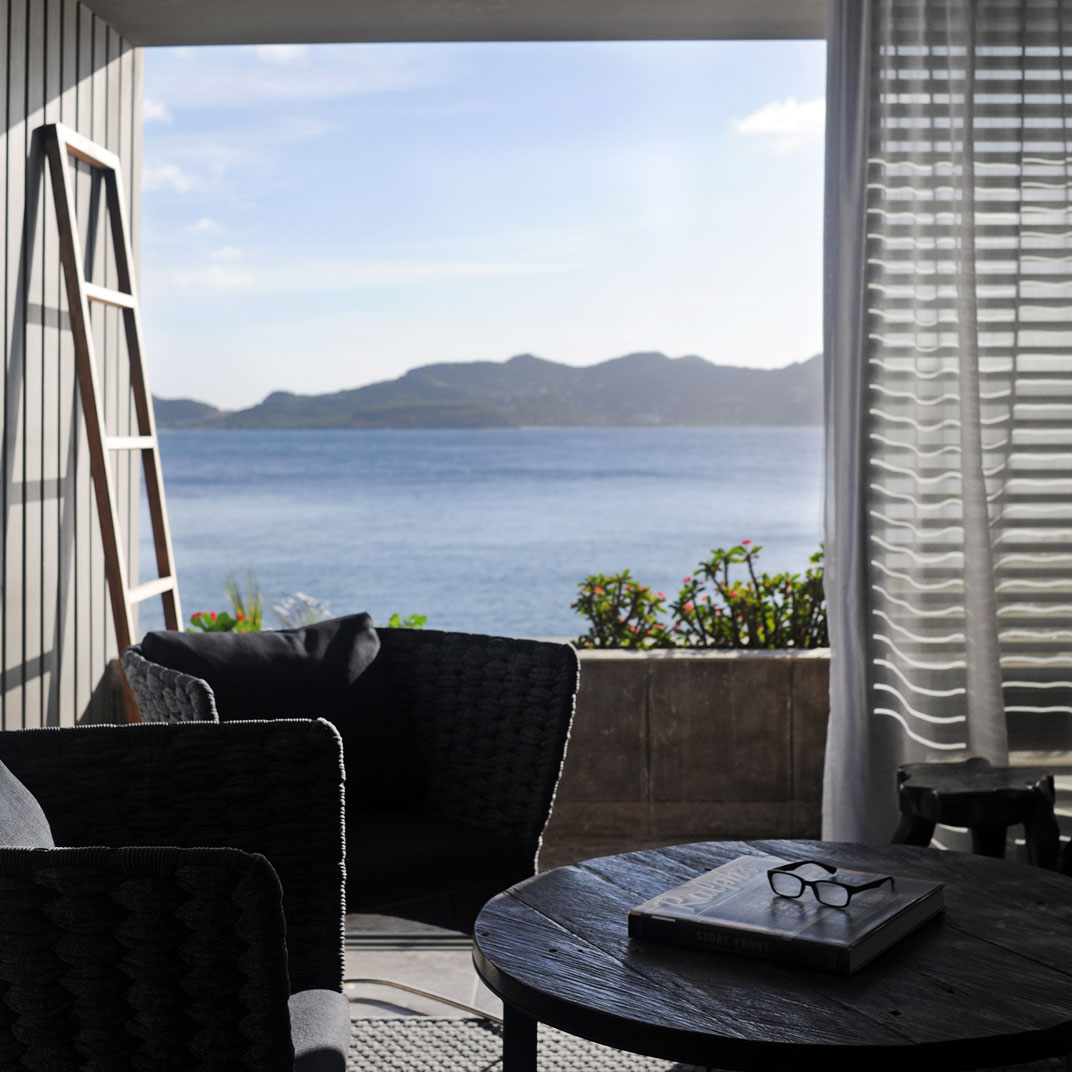 Hotel christopher st barthelemy french west indies for Tablet hotel