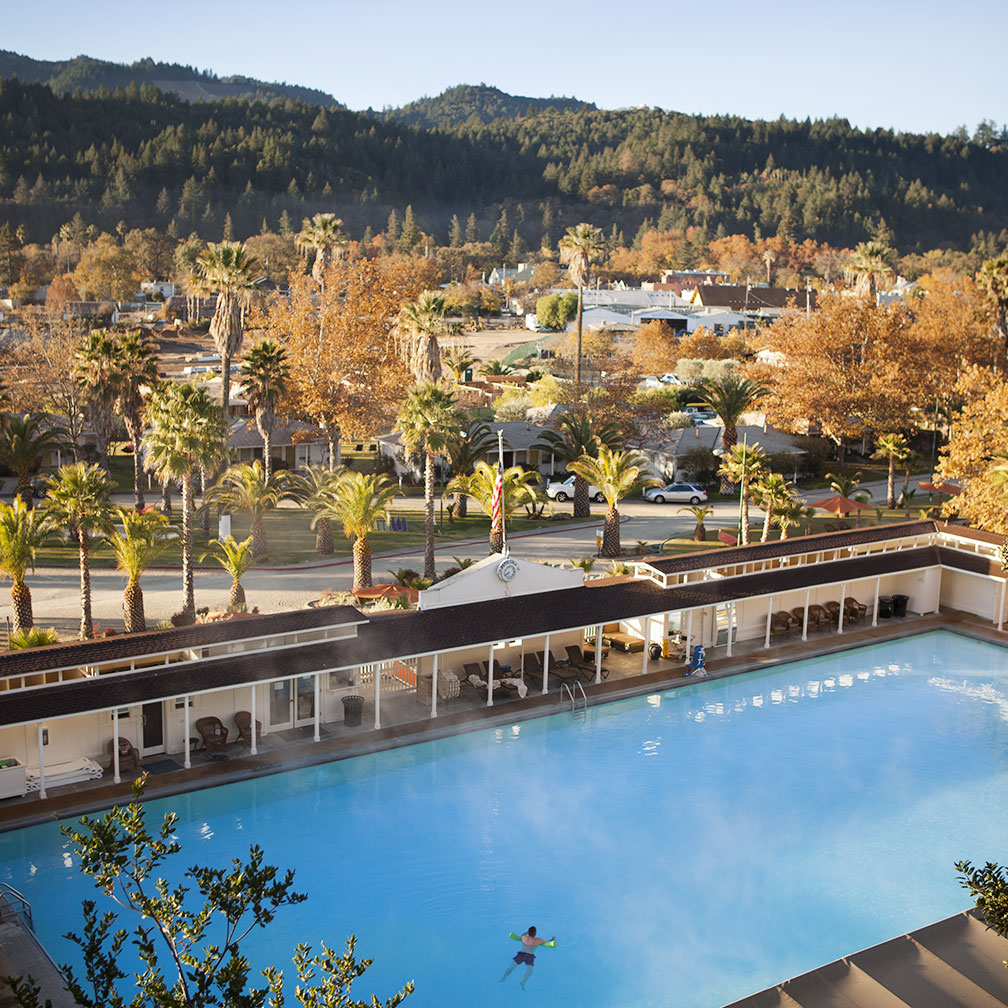 Accommodations - Indian Springs Calistoga