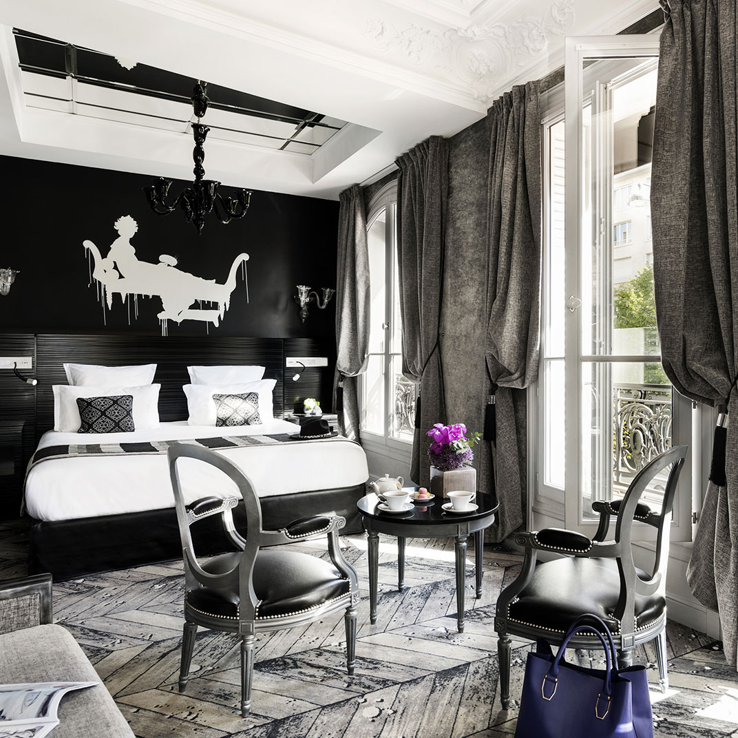 maison albar hotel paris champs elysees paris france v rifiez les commentaires tablet hotels. Black Bedroom Furniture Sets. Home Design Ideas
