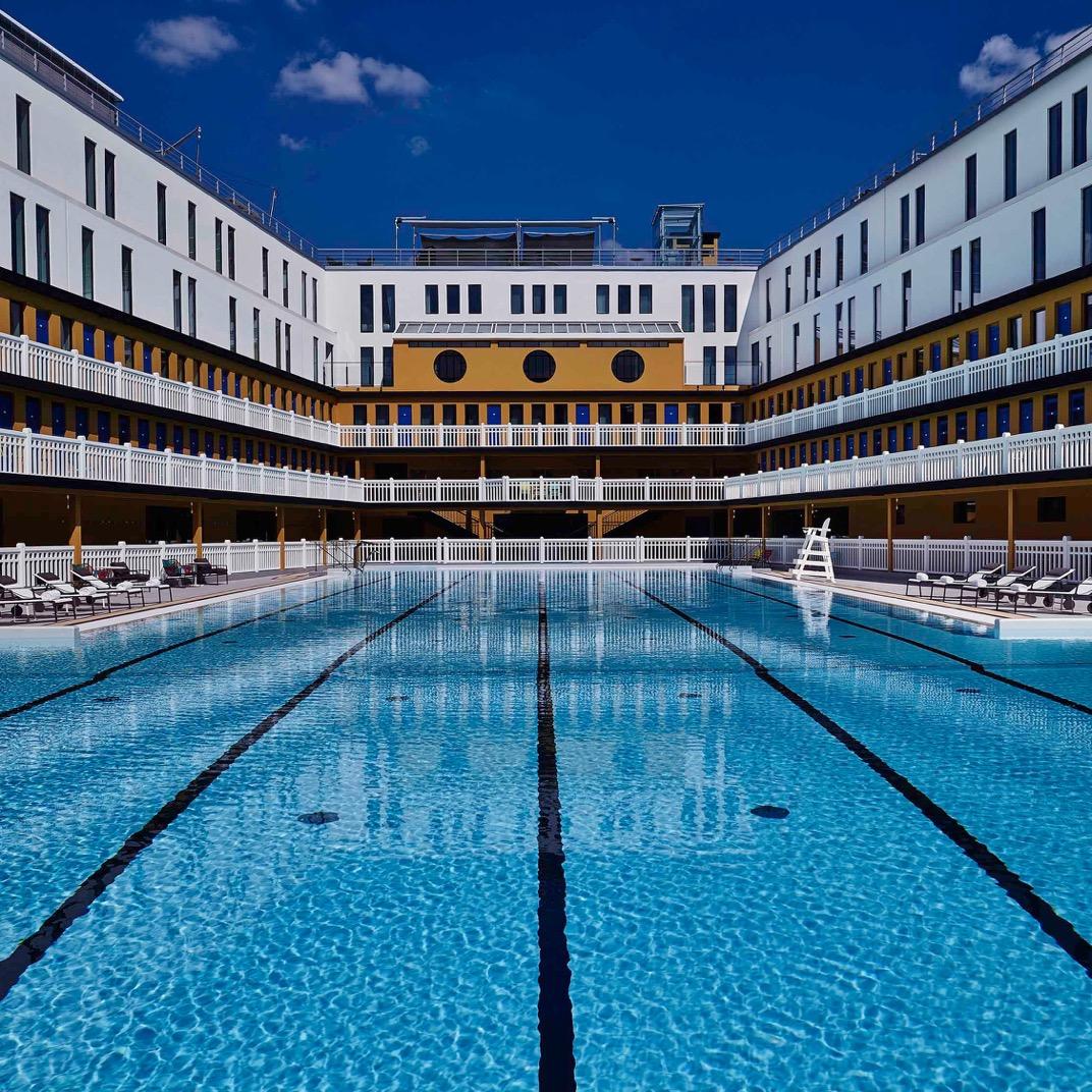 巴黎莫里托泳池酒店(Hôtel Molitor Paris)