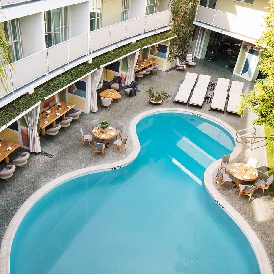 比佛利山庄阿瓦隆酒店(Avalon Hotel Beverly Hills)