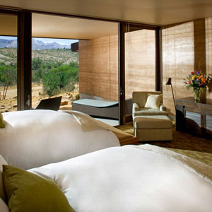 Tucson Hotel With Fireplace Spa Room Service