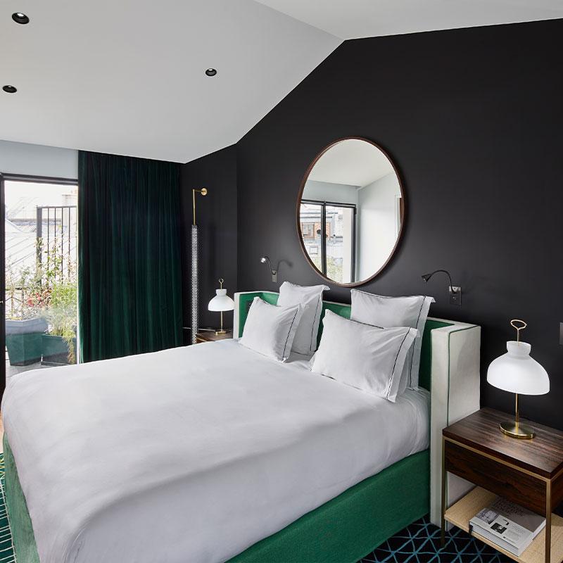 Roch Hotel Paris Hammam In Room